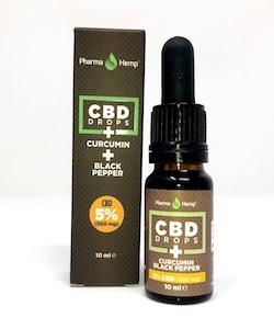 Aceite de Cannabis - curcumina y pimienta negra